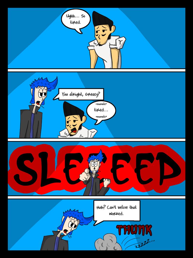 Sleepless in...nevermind.