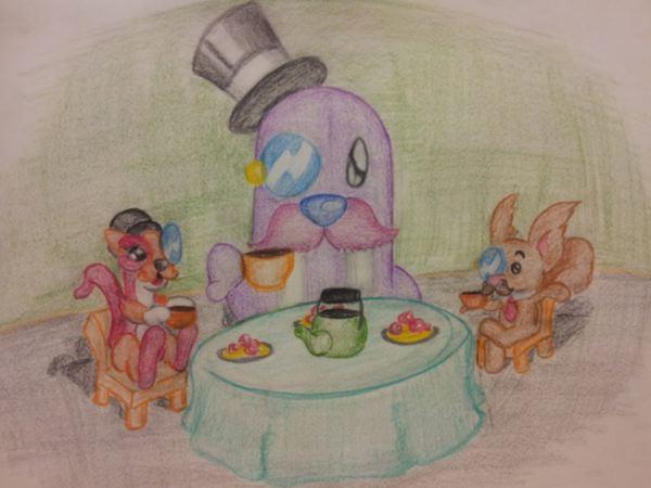 Tea Time Gentleman